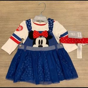 Disney Store Baby Girl Minnie Mouse Dress